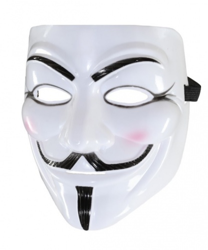 Guy Fawkes Mask, пластик (Германия)