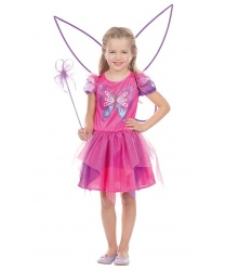 Детское платье розовой бабочки