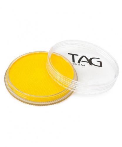 Аквагрим TAG желтый, шайба 32 гр. (Австралия)