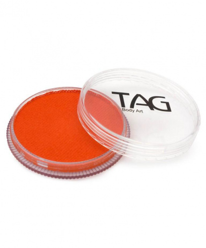 Аквагрим TAG оранжевый, шайба 32 гр. (Австралия)