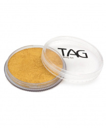 Аквагрим TAG перламутровый золотой 32 гр