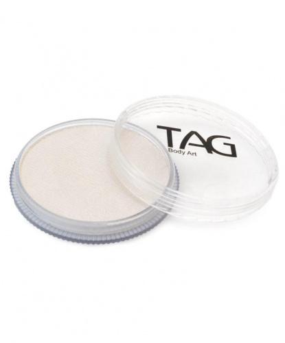 Аквагрим TAG перламутровый, белый, шайба 32 гр. (Австралия)
