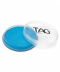 Аквагрим TAG перламутровый голубой 32 гр