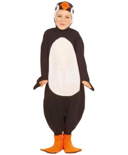 Детский костюм Пингвин: капюшон с маской, комбинезон, накладки на обувь (Италия)