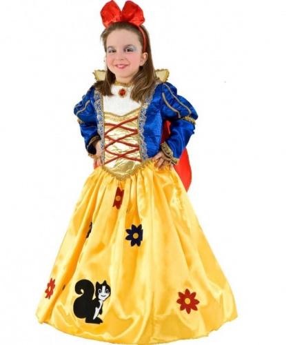 Костюм Белоснежки Дисней: платье, украшение на голову (Италия)