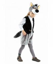 Детский костюм волка (шапка, жилет, шорты)