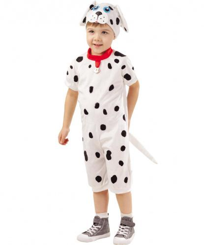 Детский костюм Далматинец: комбинезон, шапочка (Россия)