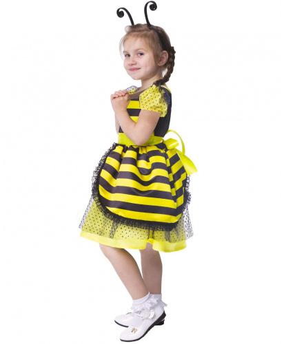 Детский костюм Пчёлка: платье, ободок (Россия)