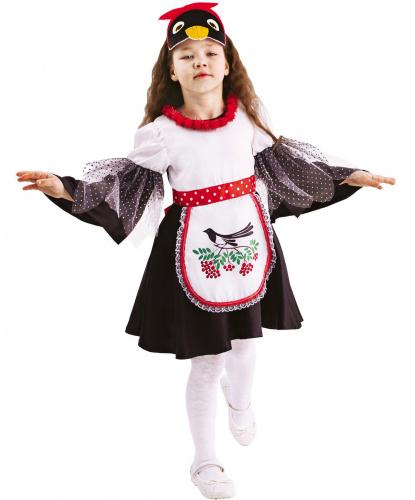 Детский костюм Сорока Глаша: платье, повязка на голову (Россия)