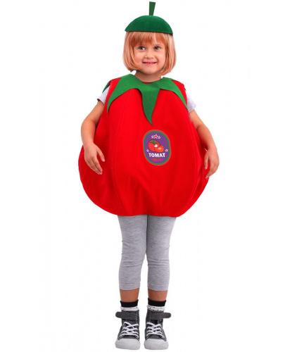 Детский костюм Помидорка: безрукавка, шапочка (Россия)