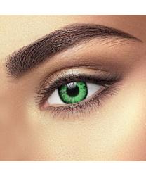 Линзы Glamour green, однодневные