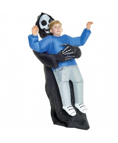 Надувной костюм Похищение смертью детский: комбинезон, батарейный блок (Великобритания)