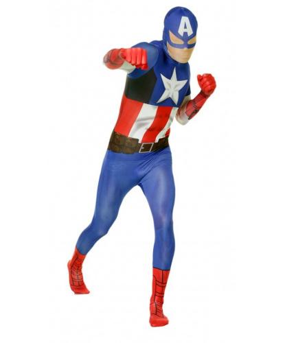Морф костюм Капитан Америка (Великобритания)