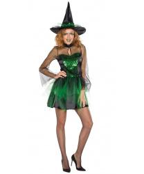 Короткое платье ведьмочки