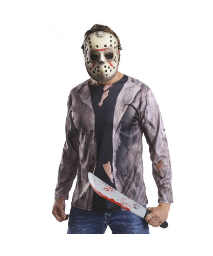 Набор Джейсона: футболка, маска, мачете (Германия)