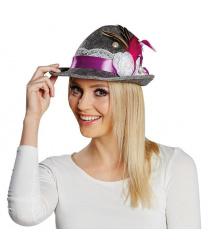 Женская тирольская шляпка
