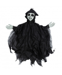 "Декорация на Хэллоуин ""Черная кукла"""
