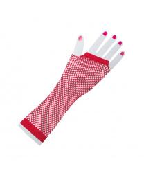 Перчатки сетчатые (красные)