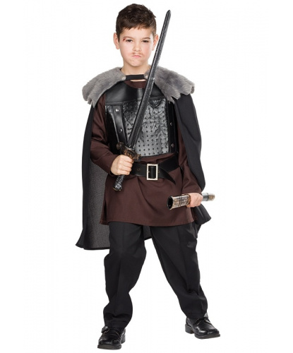 Детский костюм воина-волка: туника, пояс, накидка (Германия)