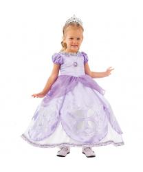 Костюм принцессы Софи: платье, подъюбник, диадема, подвеска (Россия)