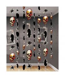 Подвесная декорация (черепа, крысы, пауки)