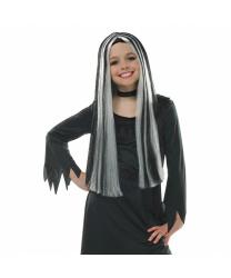 """Детский парик """"Старая ведьма"""""""