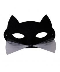 Маска кошки (черная)