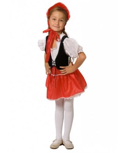 Платье Красной Шапочки: головной убор, платье (Россия)