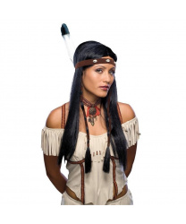 Парик девушки-индейца