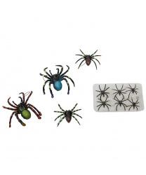 10 пауков + паутина 10 м2
