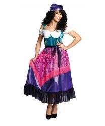 Цыганское платье и платок