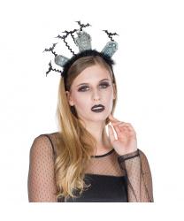 "Ободок на Хэллоуин ""Кладбище"""
