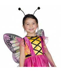 Усики бабочки на ободке