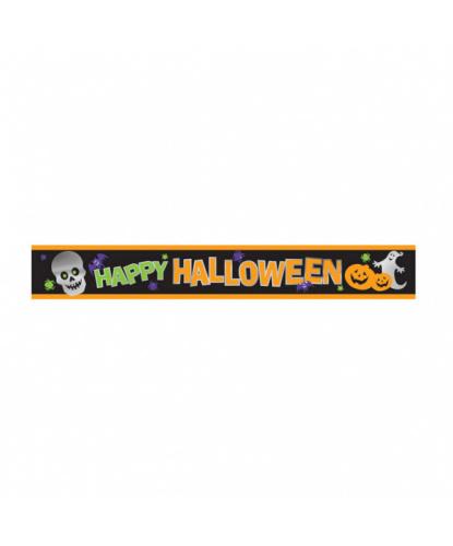Декоративный баннер Happy Halloween
