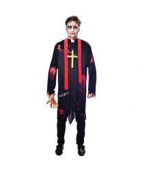Костюм зомби священник