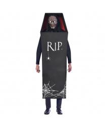 Костюм зомби в гробу