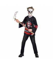 Подростковый костюм кровавого хоккеиста