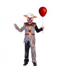 Подростковый костюм адского клоуна