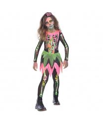 Подростковый костюм Неоновый скелет