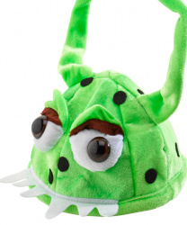 Шапка зеленого монстра