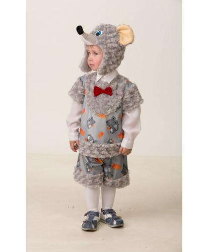 Детский костюм Мышонок Шустрик: шапка, шорты, кофта (Россия)