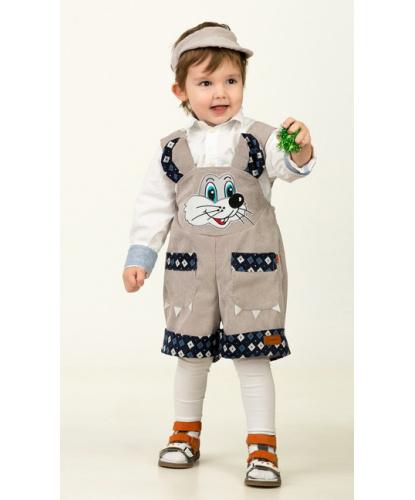 Детский костюм Мышонок Максик: комбинезон, головной убор (Россия)