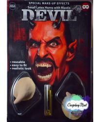 Латексные рожки дьявола с клеем (2мл)