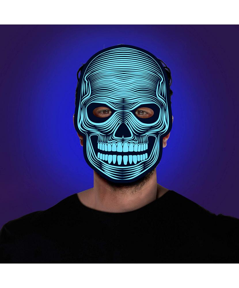 Картинка маска держащая череп