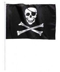 Флаг пирата малый (40x30 см)