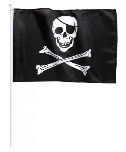 Флаг пирата малый (40x30 см): 40х30 см (Италия)