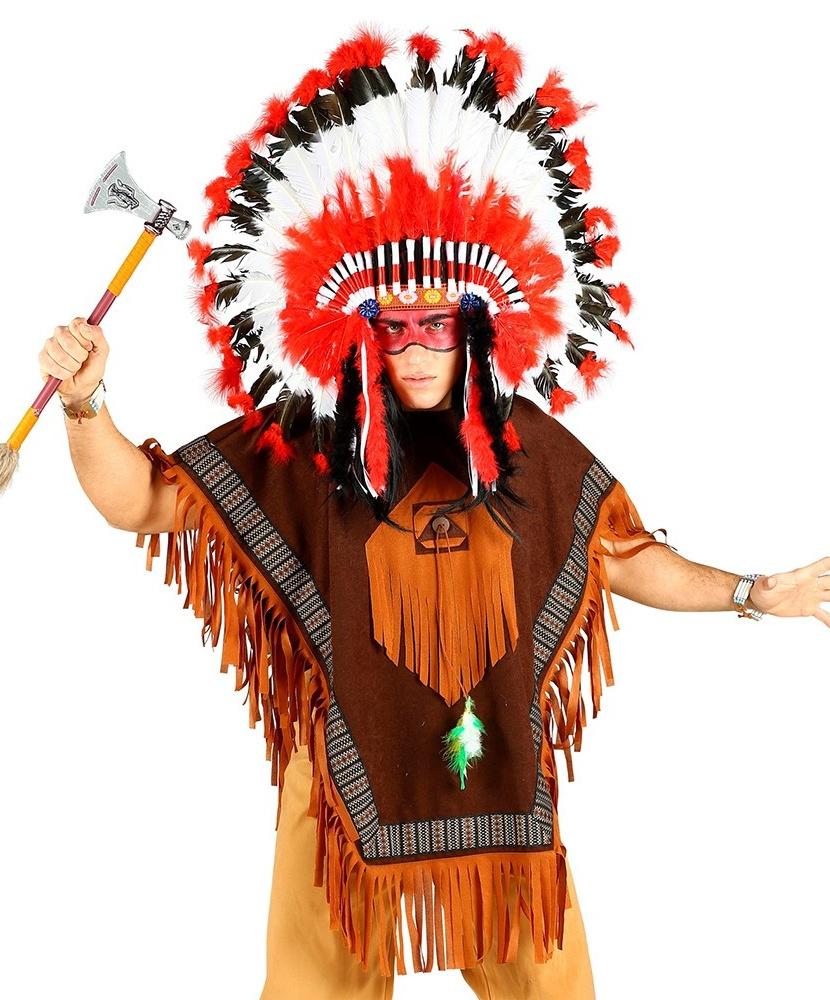 Костюм американского индейца фото