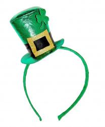 Мини-шляпка на День святого Патрика