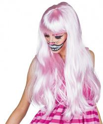 Парик светло-розовый