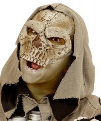 Полумаска скелета